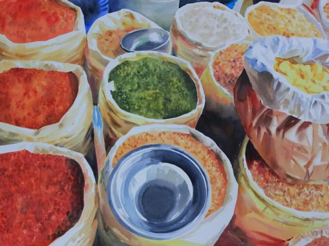 sacchi di legumi, Turchia, viaggio