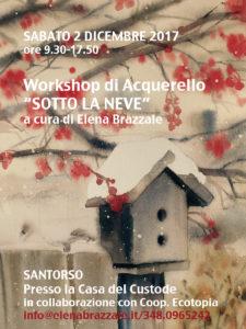 SOTTO LA NE VE workshop copy