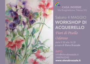 PISELLO ODOROSO WORKSHOP