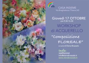 composizione floreale 17 ottobre